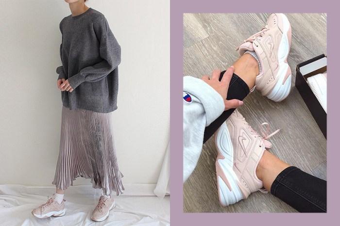 嫌全白波鞋太單調?這個春天一起成為裸粉色球鞋女孩吧!
