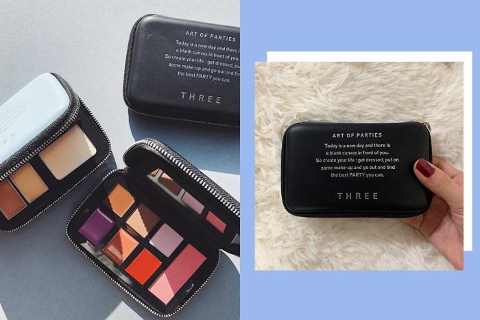 兼具實用內涵與高顏質外型:THREE 新推出的限定彩妝盒讓女生都瘋狂了!