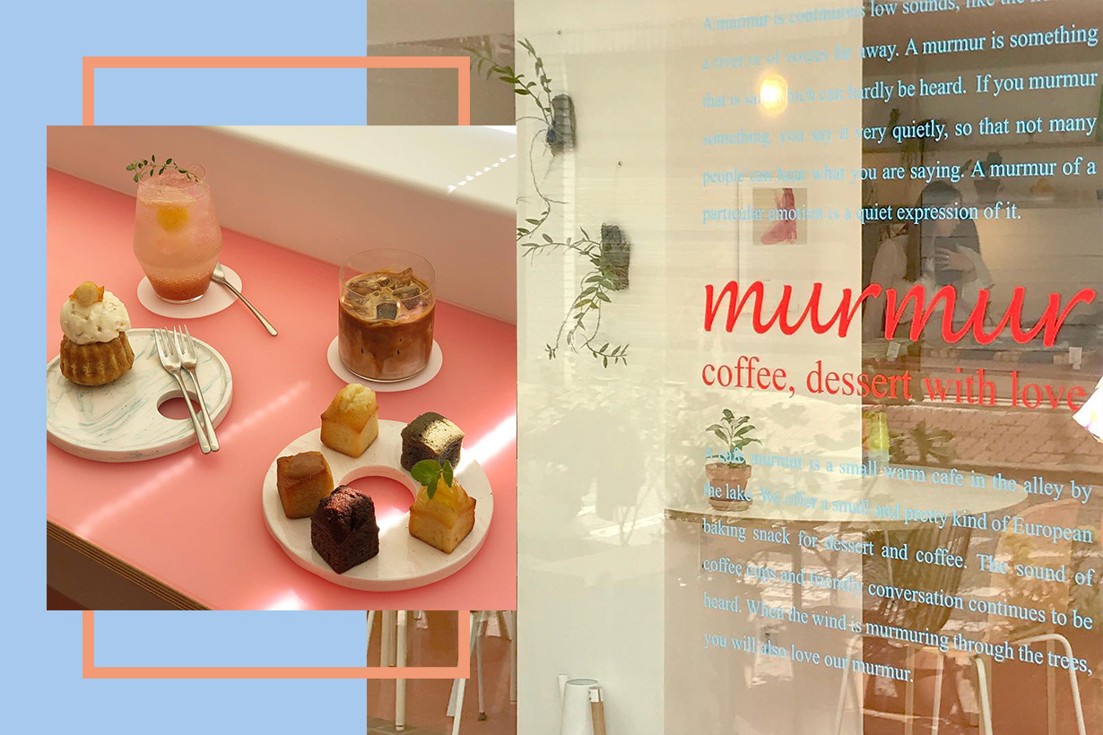 cafe seoul murmur new Instagram popspots