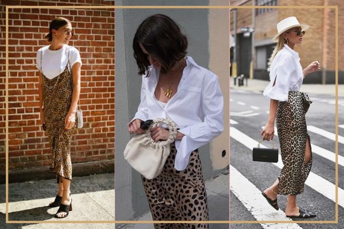 你跟上秋冬大勢的「豹紋」了沒?原來搭配「這類」單品就能輕鬆穿出街頭時尚感!