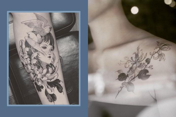 肌膚之上的唯美藝術,嚮往紋身的女孩們必須認識這位「台灣刺青師」!