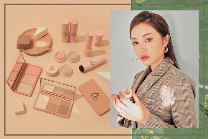 為不同膚色量身訂做!韓系彩妝 3CE 又出招,絕美裸色 Base Make-Up 系列全新登場!