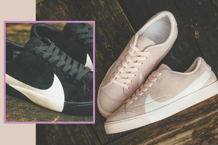 Nike 再度將 Swoosh Logo 做造型!個性或浪漫女生都能演繹的全新 Blazer 鞋款登場!