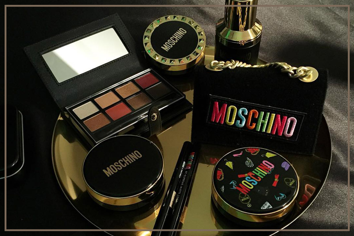 MOSCHINO TONYMOLY Collabration makeup 2018 Eyeshadow Palette