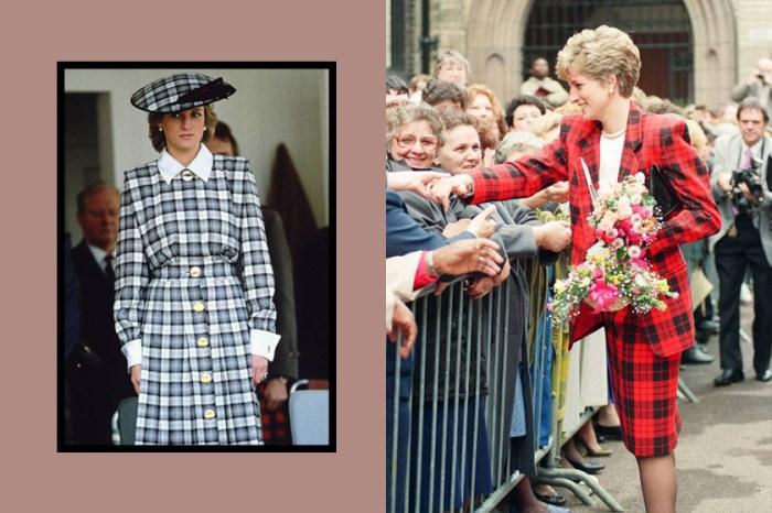 Zara 今季推出了海量的格仔紋單品,塑造戴安娜王妃的英倫氣質穿搭!