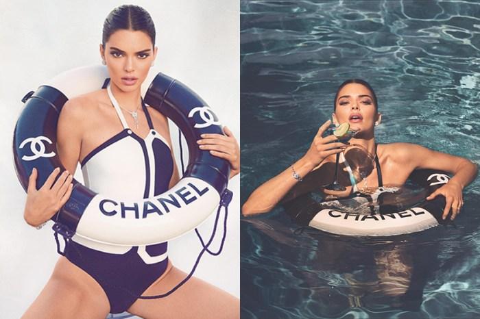 掌握夏日的尾巴!Kendall Jenner 迷人出鏡 Chaos SixtyNine 演繹多款復古泳裝造型!