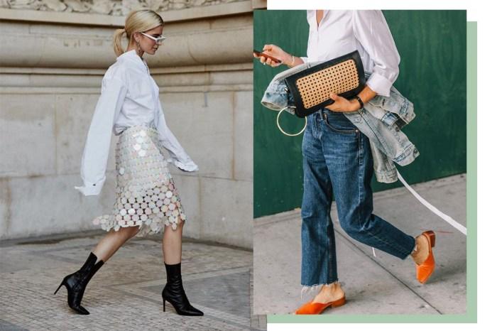 用衣櫃裡都有的「白襯衫」打造換季造型,這裡有多個變奏穿搭靈感!