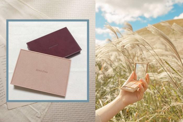 韓國女生已經人手一盤!innisfree 自組眼影盤推出秋冬麂皮特別版!