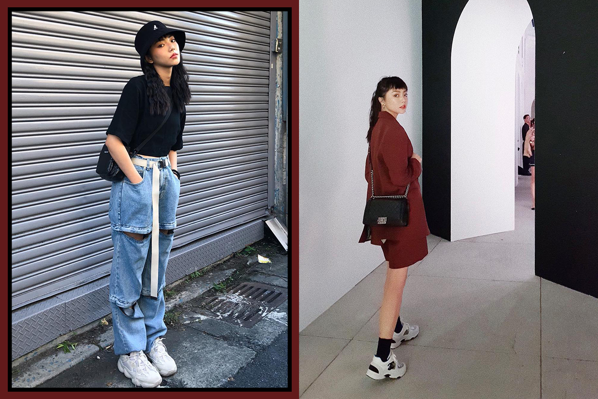 IG Girls Zero Lee Dad Shoes Sneaker Style 7 Day