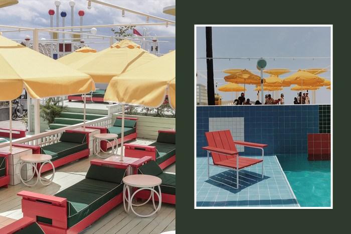 想來場度假之旅?這間峇里島餐廳讓你置身 80 年代復古泳池派對!