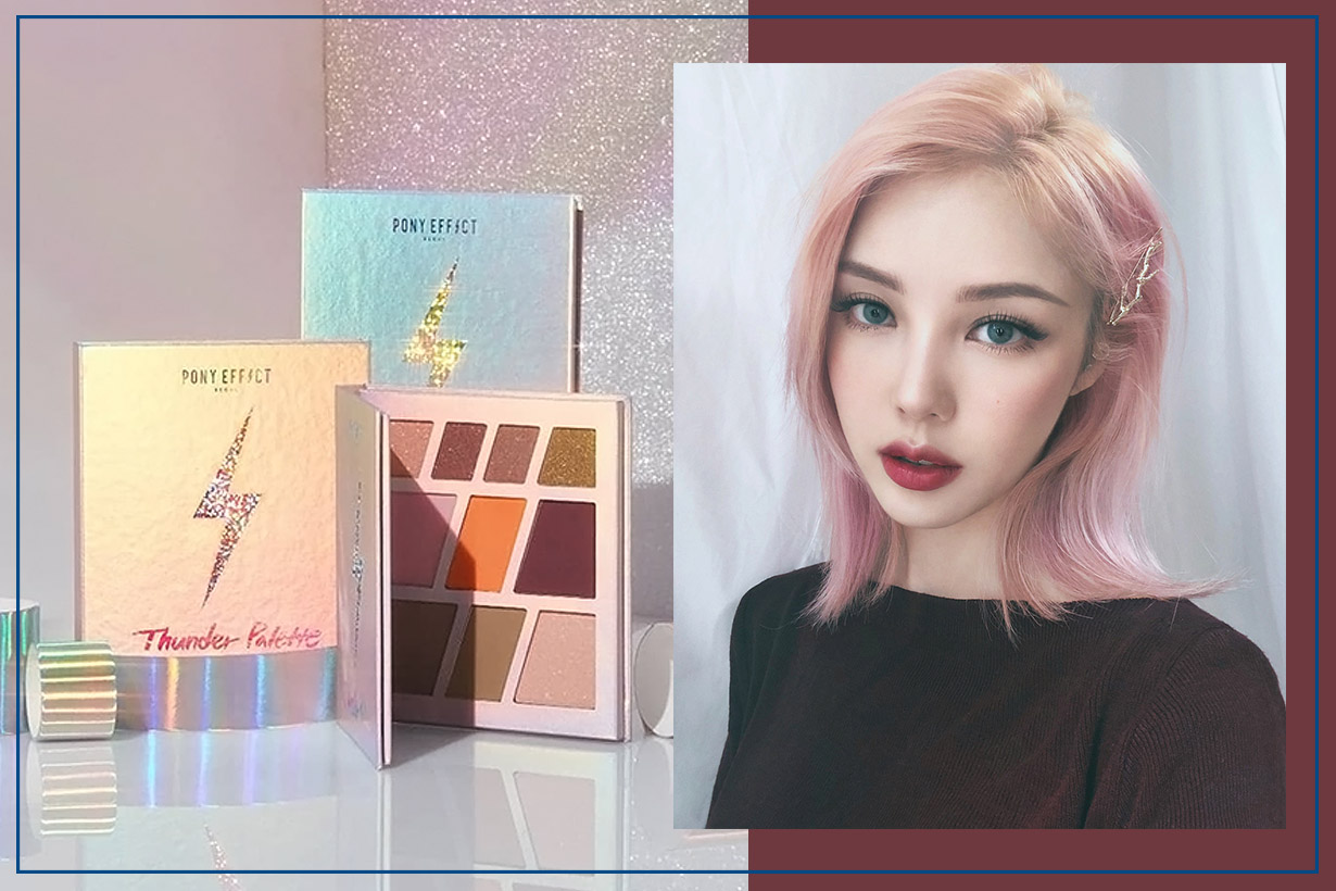 Pony Effect Christmas Palette Korean Makeup
