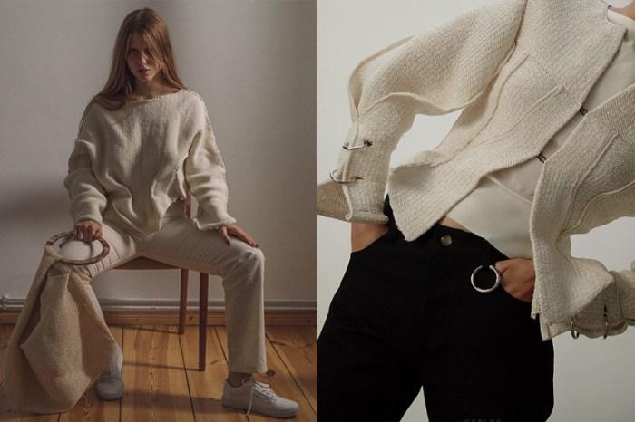 針織控的隱藏天堂!這家倫敦的小眾服裝品牌,每件獨特剪裁設計都是極簡衣櫃的繆思!