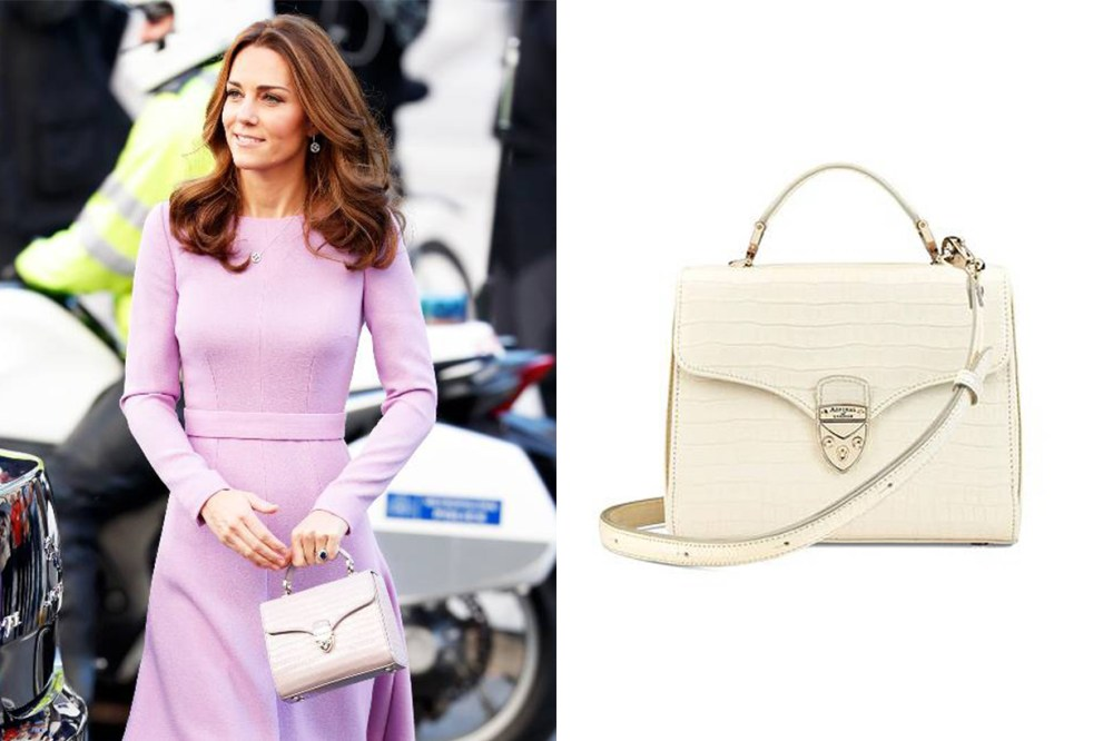 Aspinal of London Midi Mayfair Bag Kate Middleton