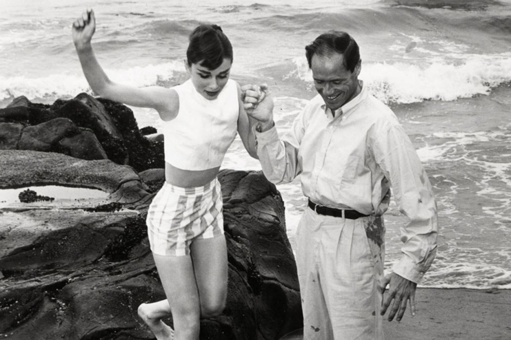 Audrey Hepburn Afraid of Water