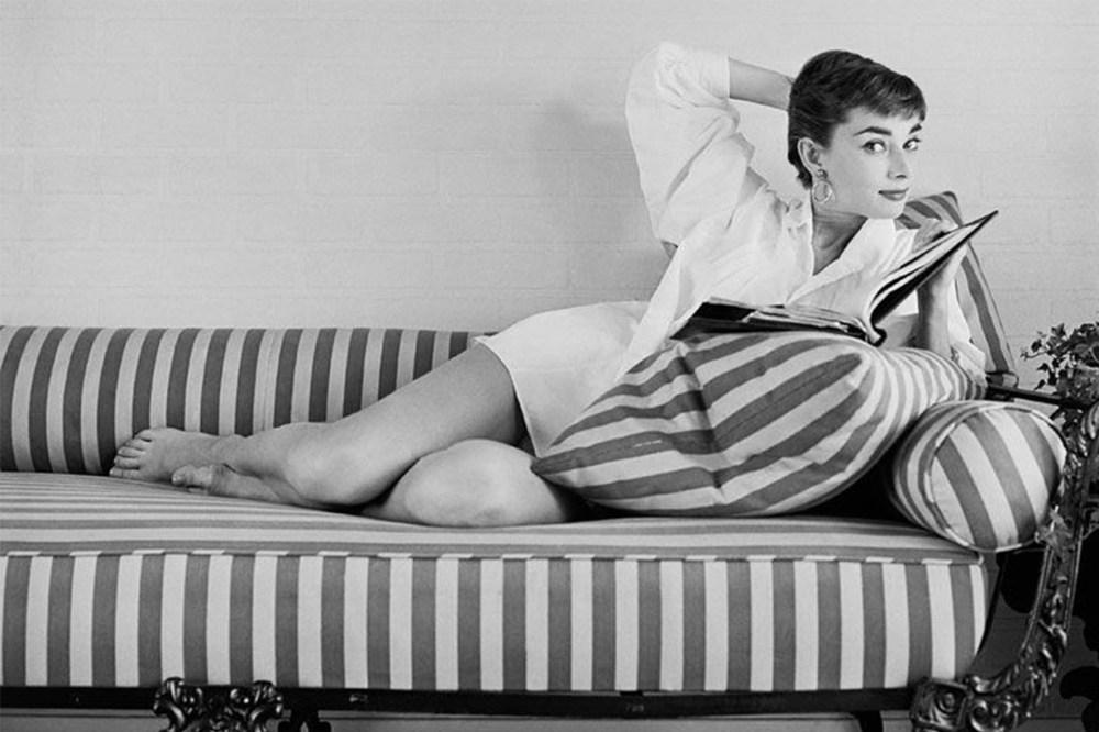 Audrey Hepburn Big Feet