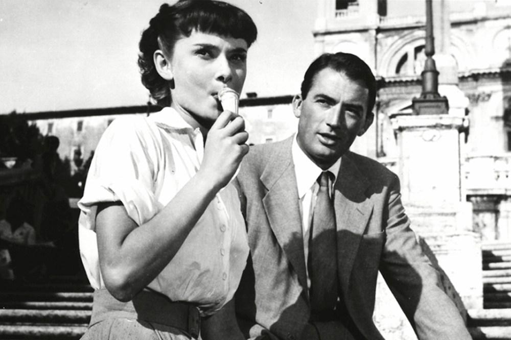 Audrey Hepburn Roman Holiday Ice Cream