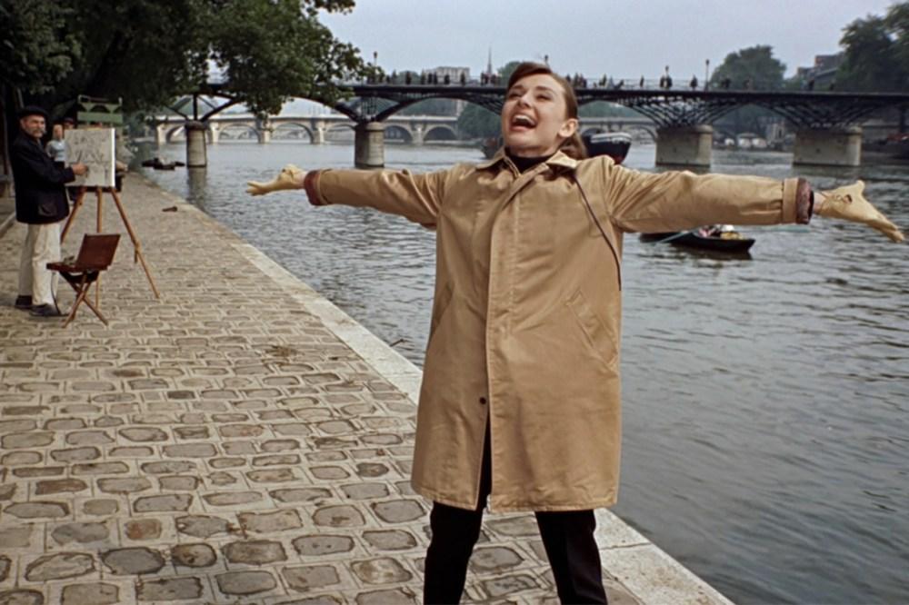 Audrey Hepburn Travel Coat