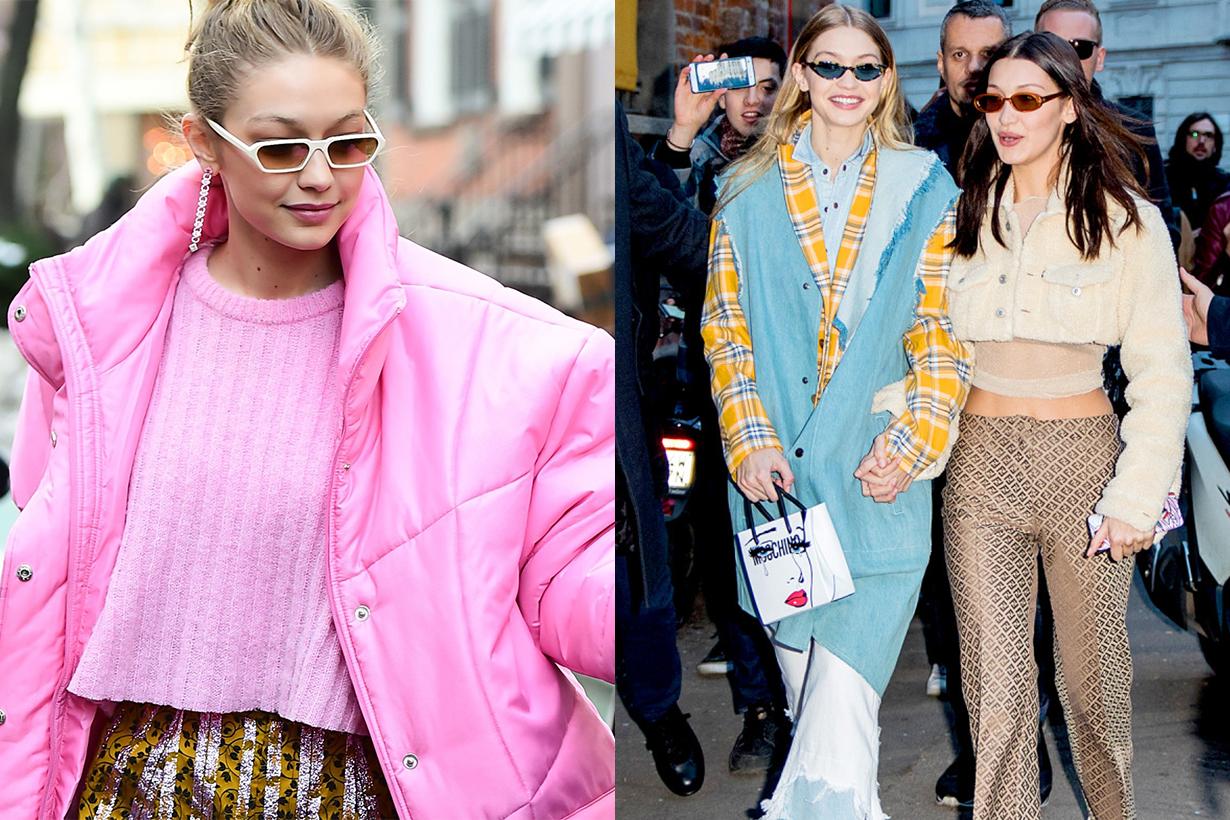 Gigi Hadid's Winter Look Before Victoria's Secret Fashion Show