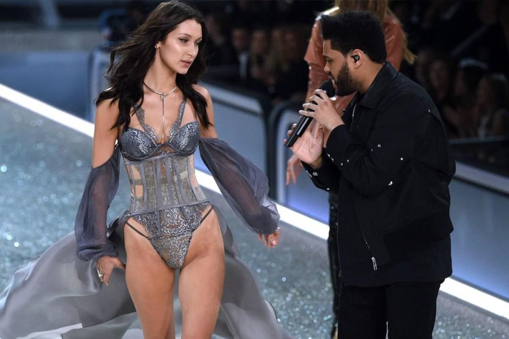 Bella Hadid The Weeknd Victoria's Secret