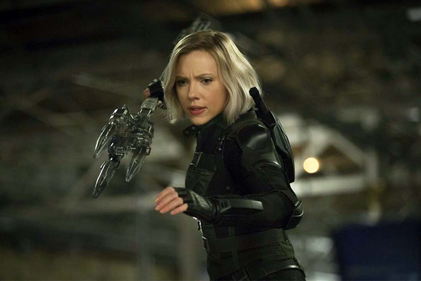 Black Widow In AVENGERS INFINITY WAR original design