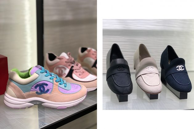 Chanel ifc mall shoes boutique 2018