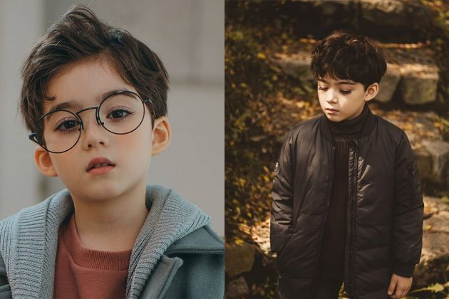 Cooper JiAn Lunde 5 years old little model