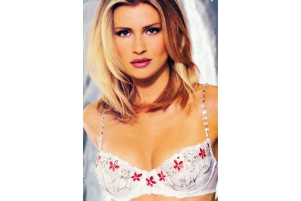 "Daniela Pestova in the ""Dream Angel Fantasy Bra 1998 Victoria's Secret Model"