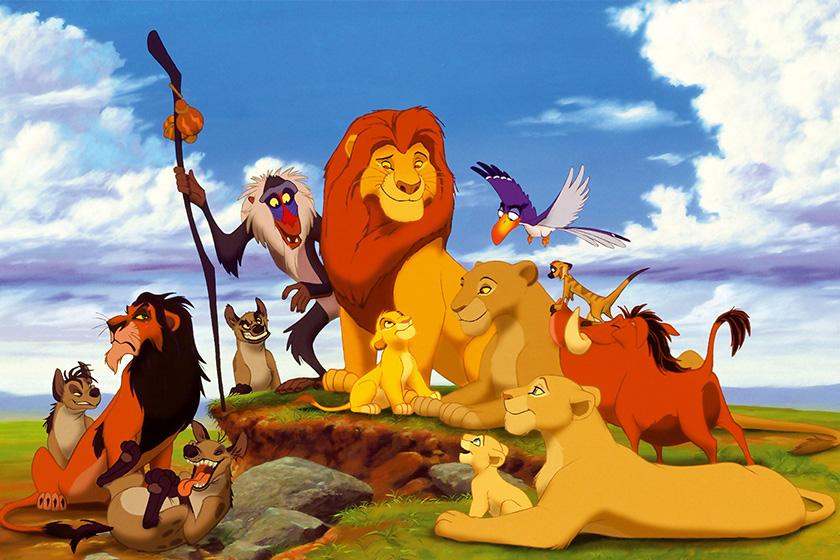 Disney The Lion King Pumbaa Seth Rogen Instagram BTS