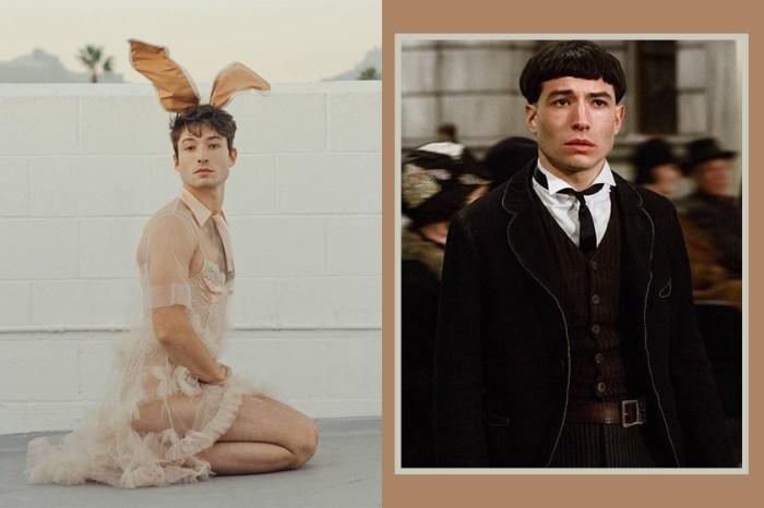 你沒認錯!《怪獸》電影主角 Ezra Miller 登上《Playboy》,粉絲大喊造型「太瘋狂!」