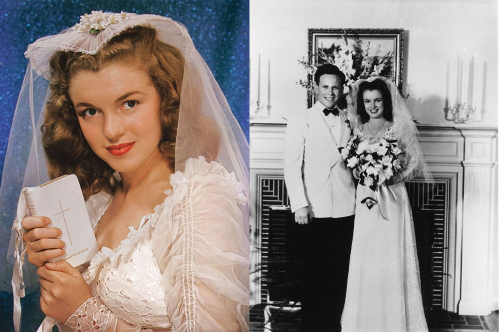 Facts About Marilyn Monroe Wedding at 16