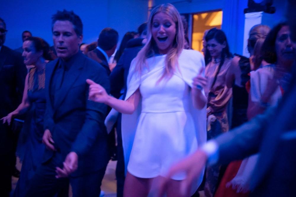 Gwyneth Paltrow Brad Falchuk wedding detail gown romantic
