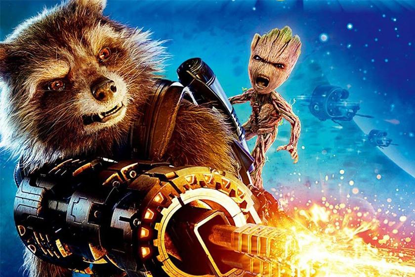 Guardians of the Galaxy rocket raccoon groot series disney+
