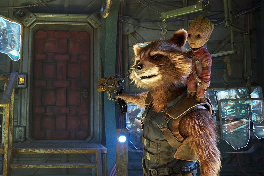 Guardians of the Galaxy rocket raccoon groot series disney +