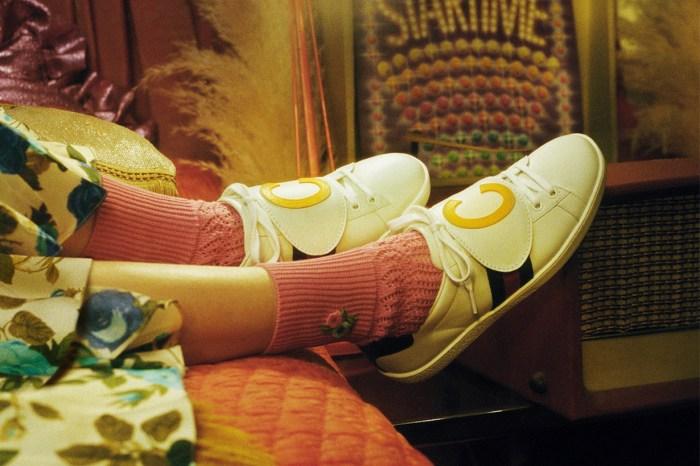 看膩了老爹鞋,無法抗拒 Gucci Ace 鞋子的輕盈質感
