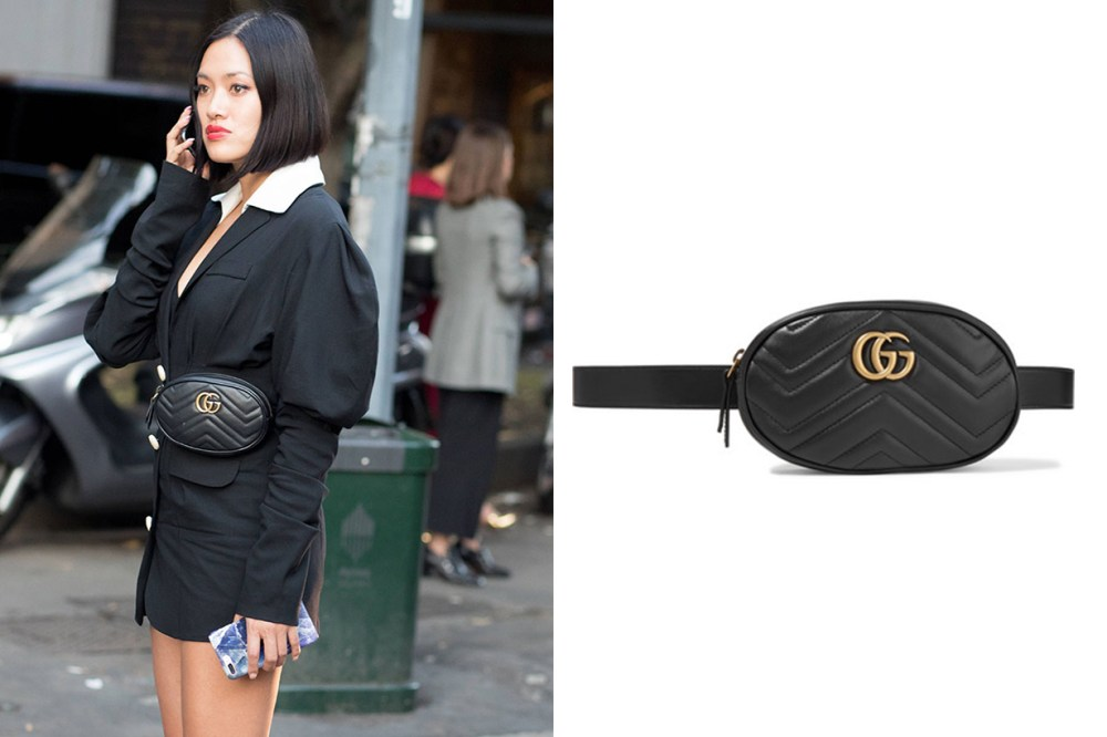 Gucci Marmont Belt Bag Street Style It Bag