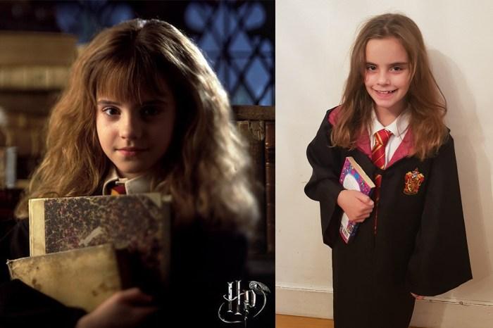 與「小妙麗」撞樣!9 歲小女孩神還原 Emma Watson 小時候