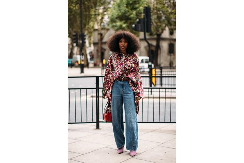 Boho Blouse Baggy Jeans Bohemian Street Style