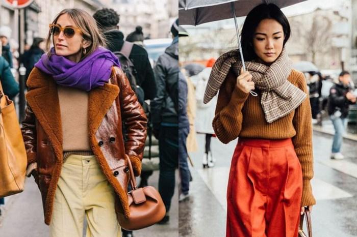 最實用的保暖單品即將出場:6 張街拍教你今季如何時髦戴頸巾!