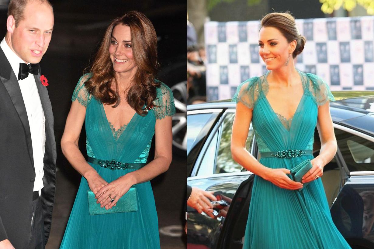 Kate Middleton Rewore Her 2012 Jenny Packham Gown