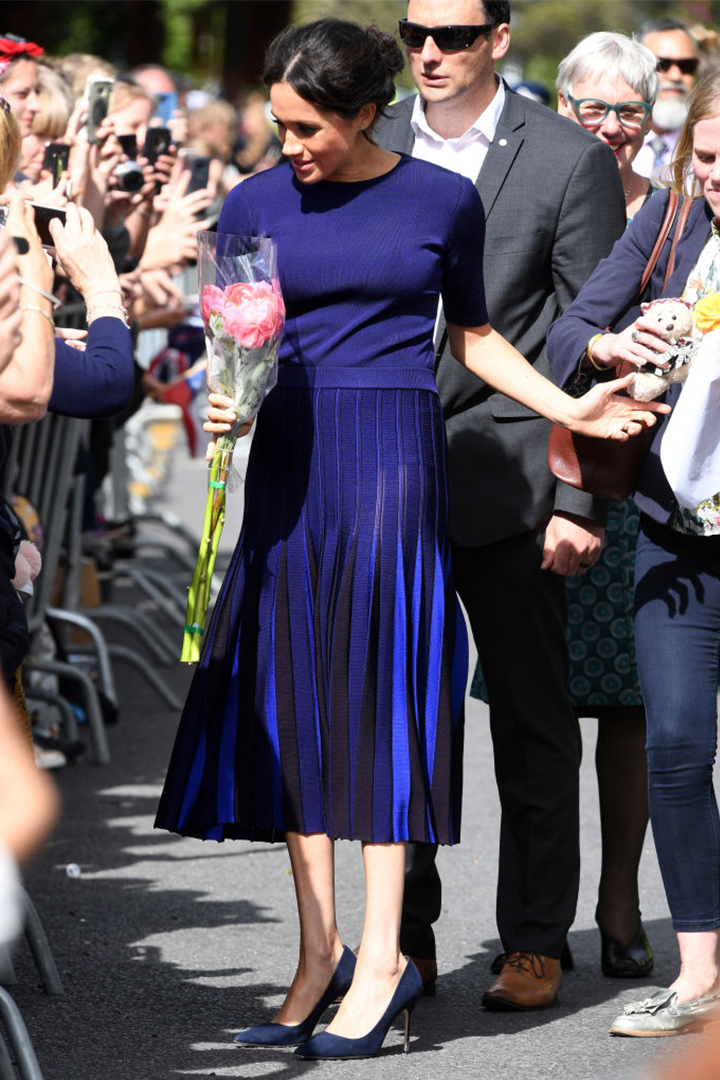 Meghan Markle's See-Through Skirt