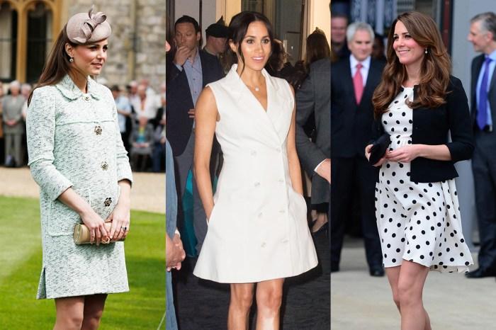 有了寶寶就無視皇室規範?梅根和凱特懷孕大膽穿短裙其實有原因!