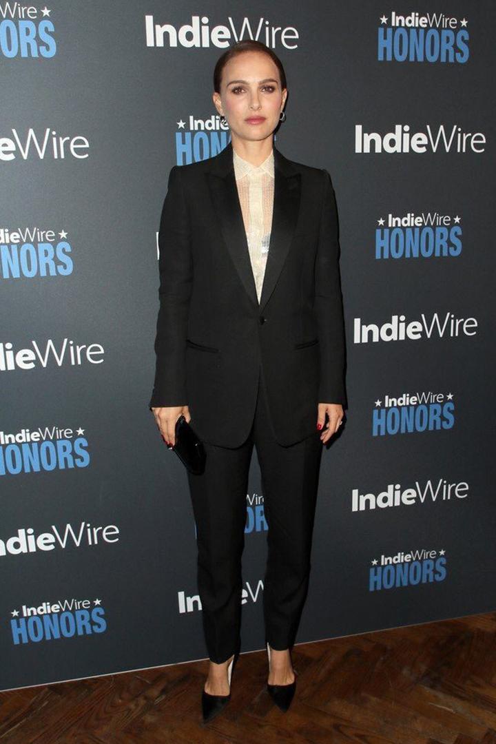 Natalie Portman Shows Us How to Wear Hedi Slimane's New Celine Suiting