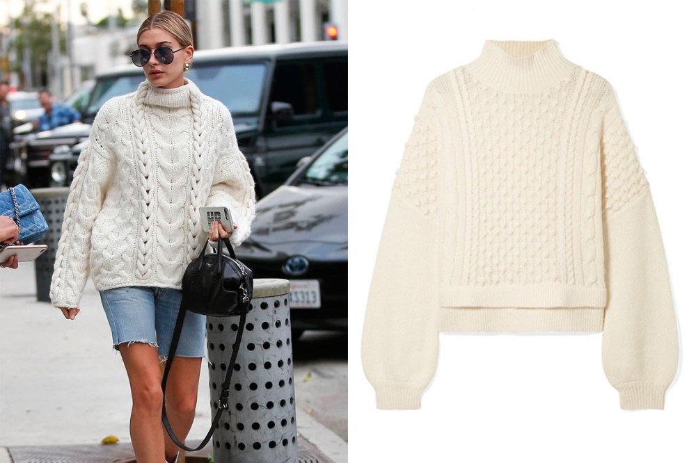 Frame Nubby Wool-blend Turtleneck Sweater Chunky Knitwear Street Style