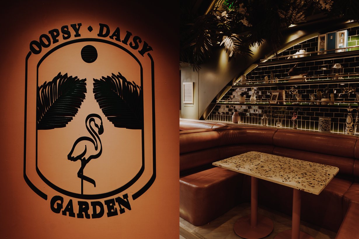 oopsy daisy garden bar taipei hot spot new