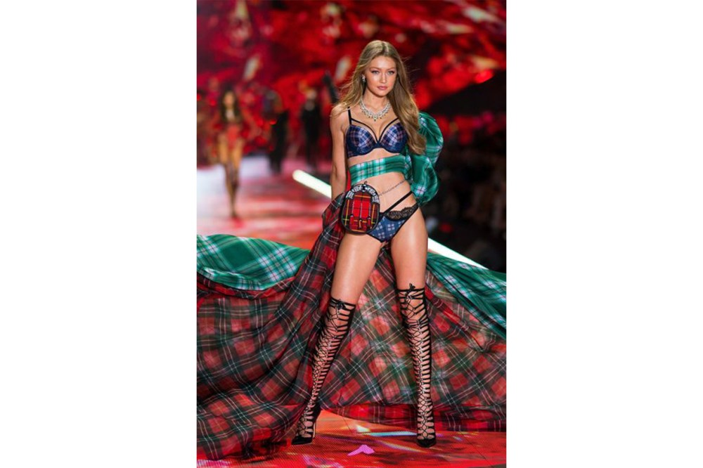 Gigi Hadid Victoria's Secret Model Pose