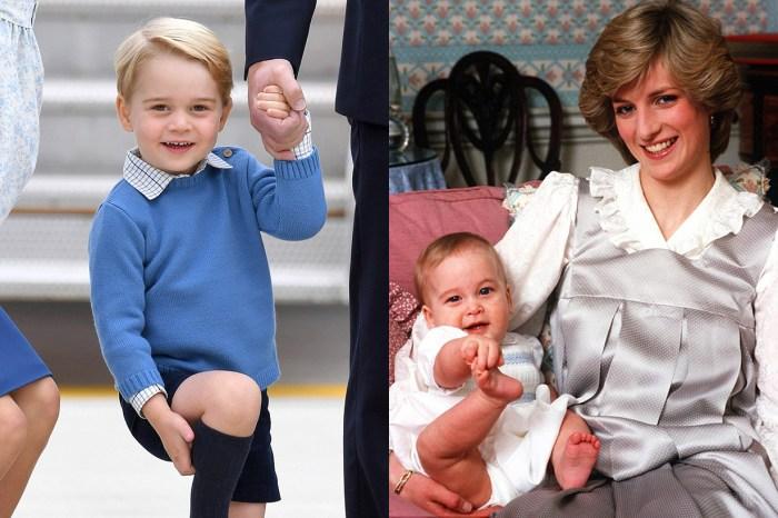 喬治王子的聖誕「壞習慣」,原來遺傳自戴妃和威廉王子的調皮基因!