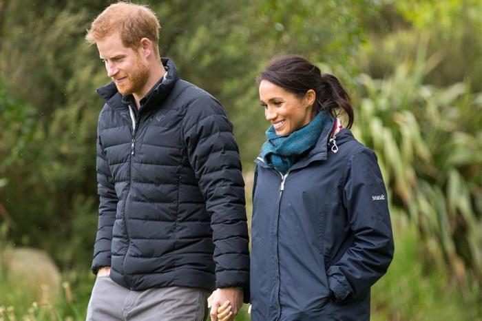 #皇室模範夫婦:哈里王子借了自己的外套給梅根,還拍了張美照發佈在 Instagram!