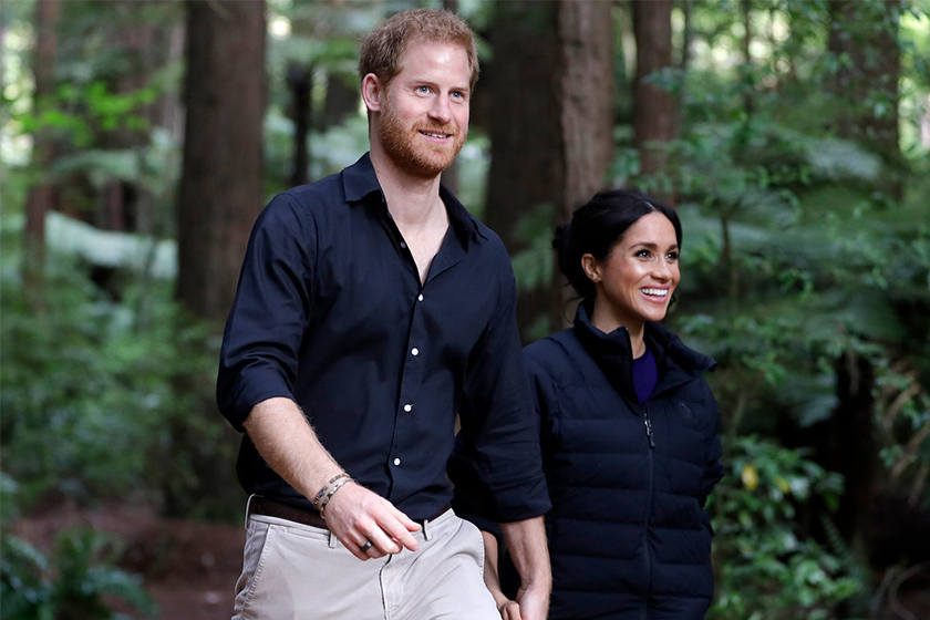 Prince Harry and Meghan Markle Broke Royal Protocol on Their Tour