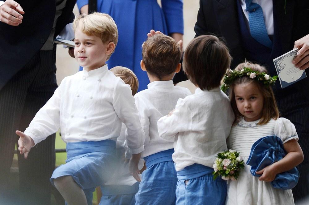 Prince George and Princess Charlotte Wedding