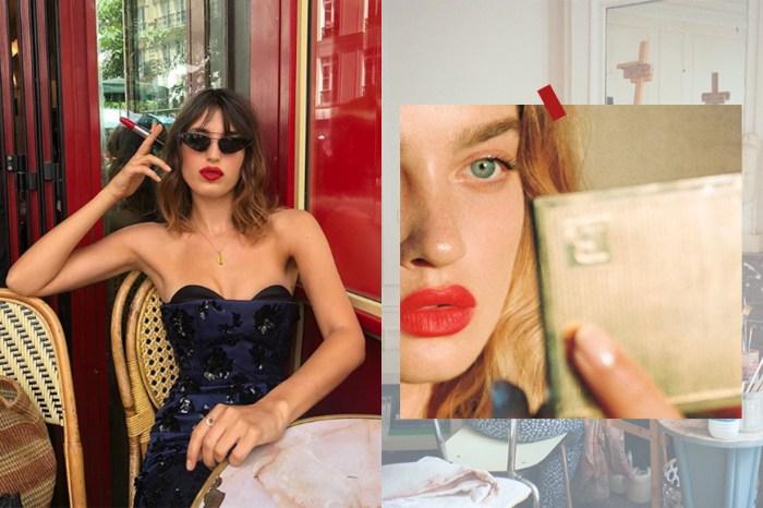 想模仿 Jeanne Damas 的法式妝容?Rouje 將推出復古包裝唇膏系列!